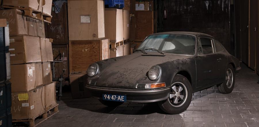 Barn Find Porsche 912 for sale