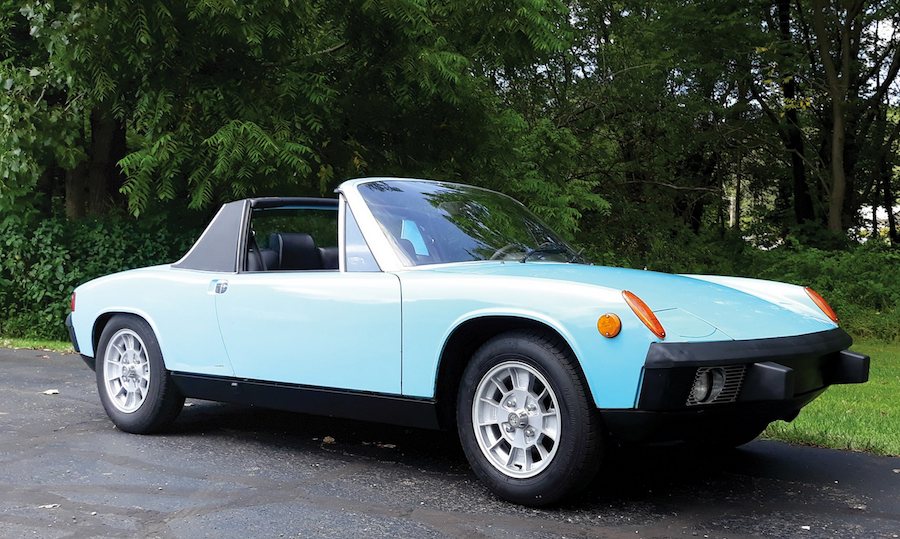 auburn Auction Porsche 914 at RM Sotheby's