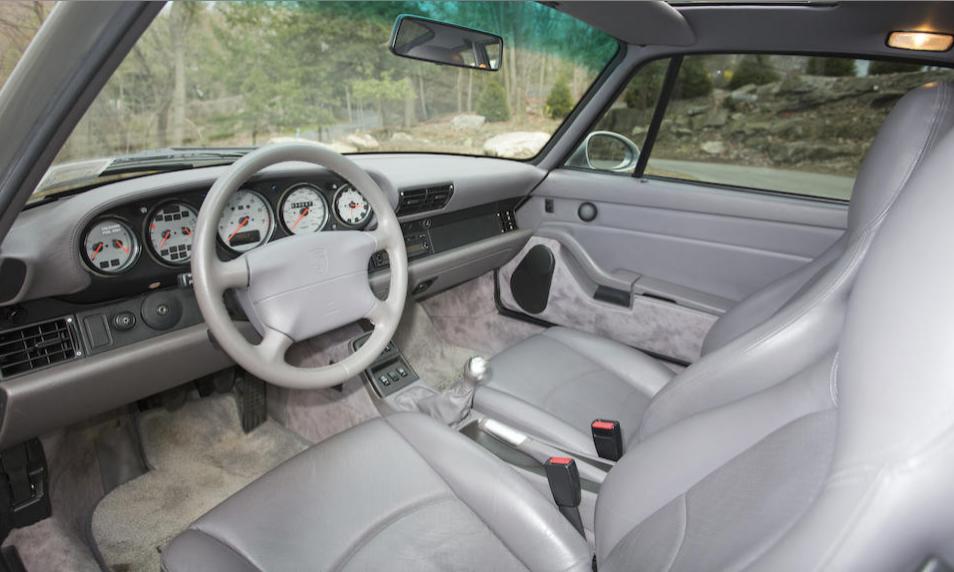 Porsche 993 Interior Scottsdale 2020