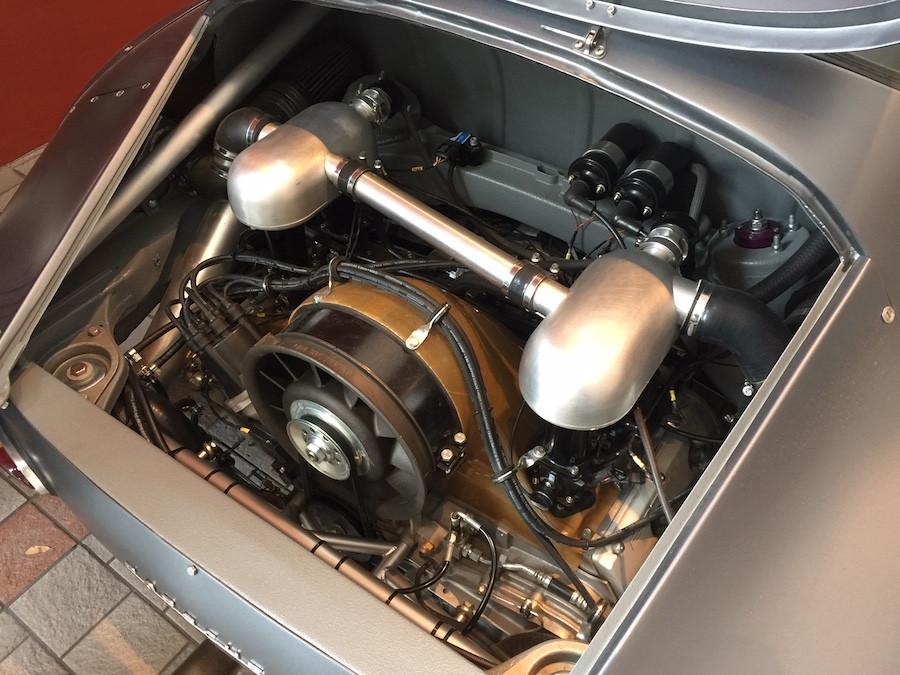 Emory Porsche MOMO RSR engine