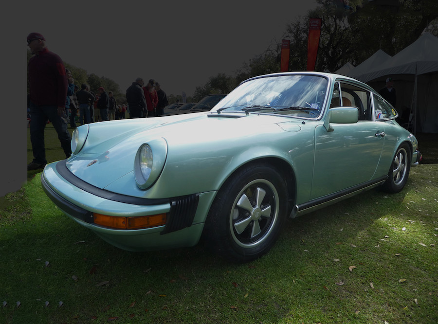 Air-Cooled Porsche 911 Outlaw with Carrera 3,2 motor