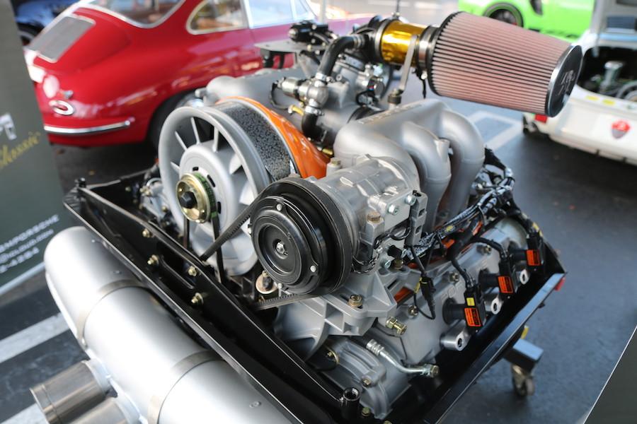 Porsche 911 Racing engine at DRT2020