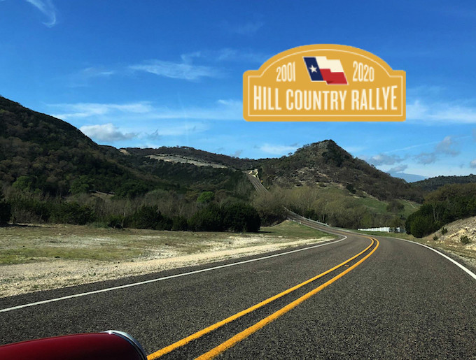 Driving Air-Cooled Porsches Texas Hill Country Rallye
