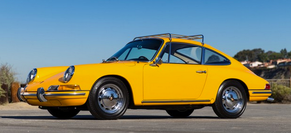 Canary Yellow Porsche 912 for sale