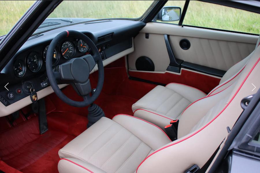 Porsche 911 Weissach Edition Interior