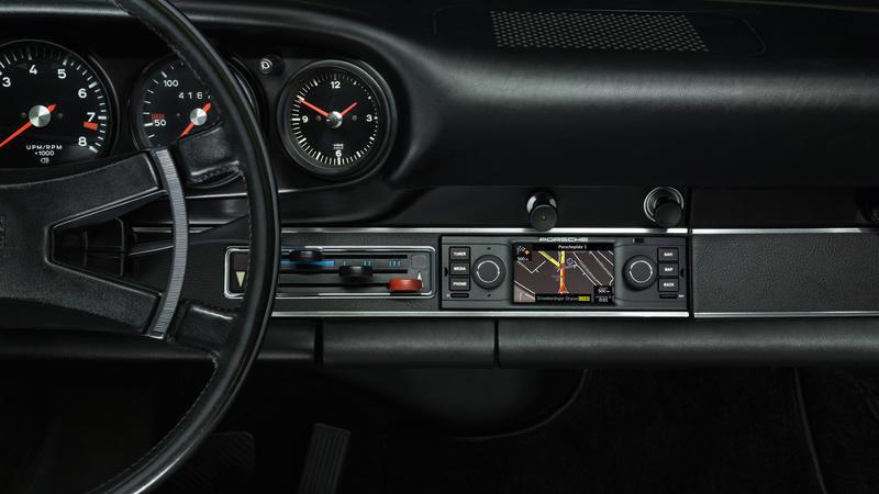 Classic Porsche Radio for Air-Cooled Porsche