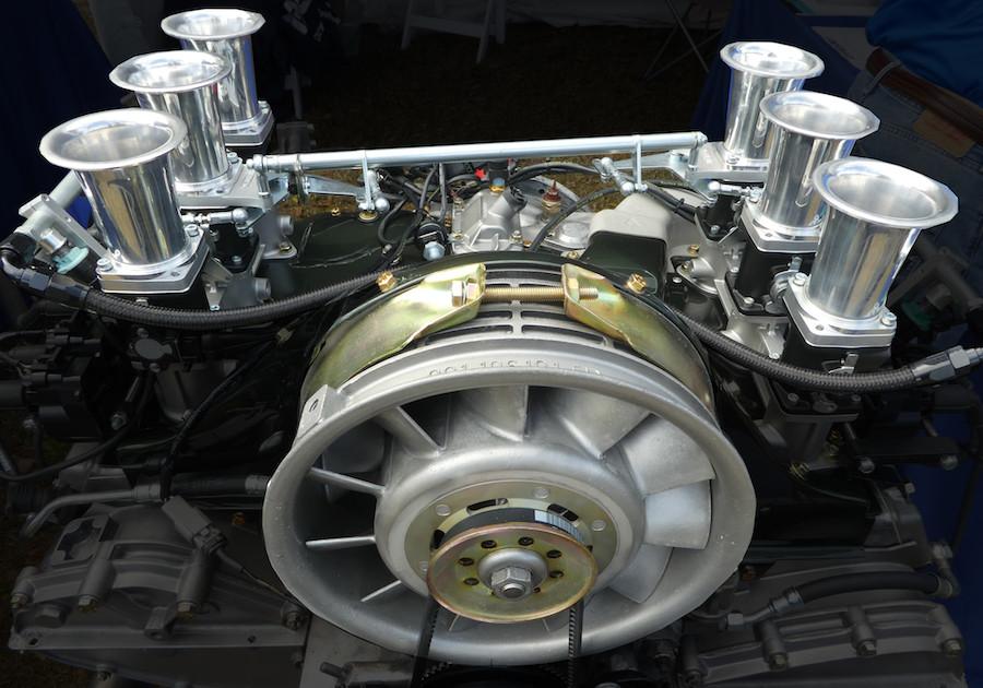 Porsche air-cooled engine