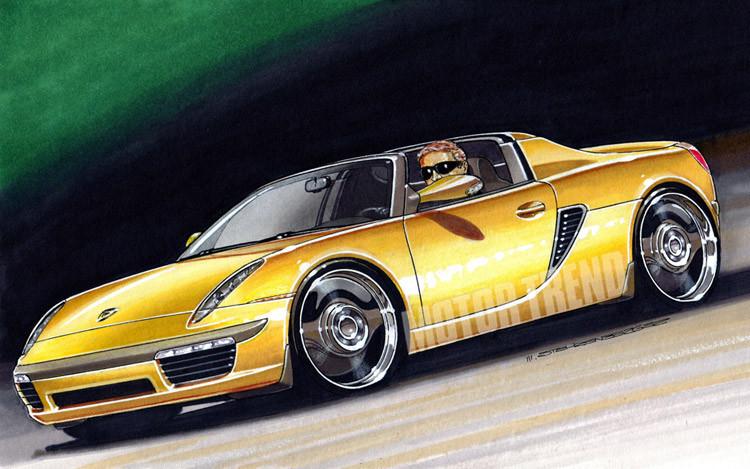 New Porsche 914