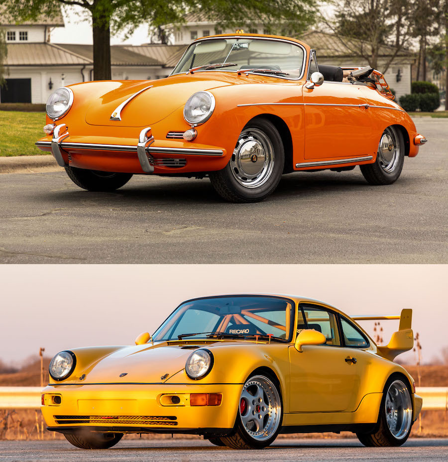 Air-Cooled Porsche for Sale at Amelia Island