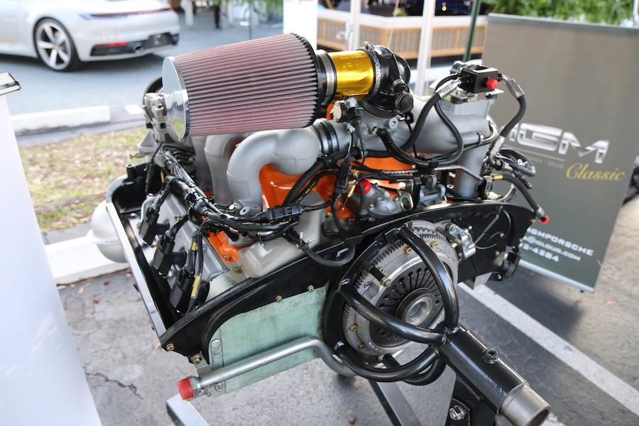 Porsche engine at DRT2020