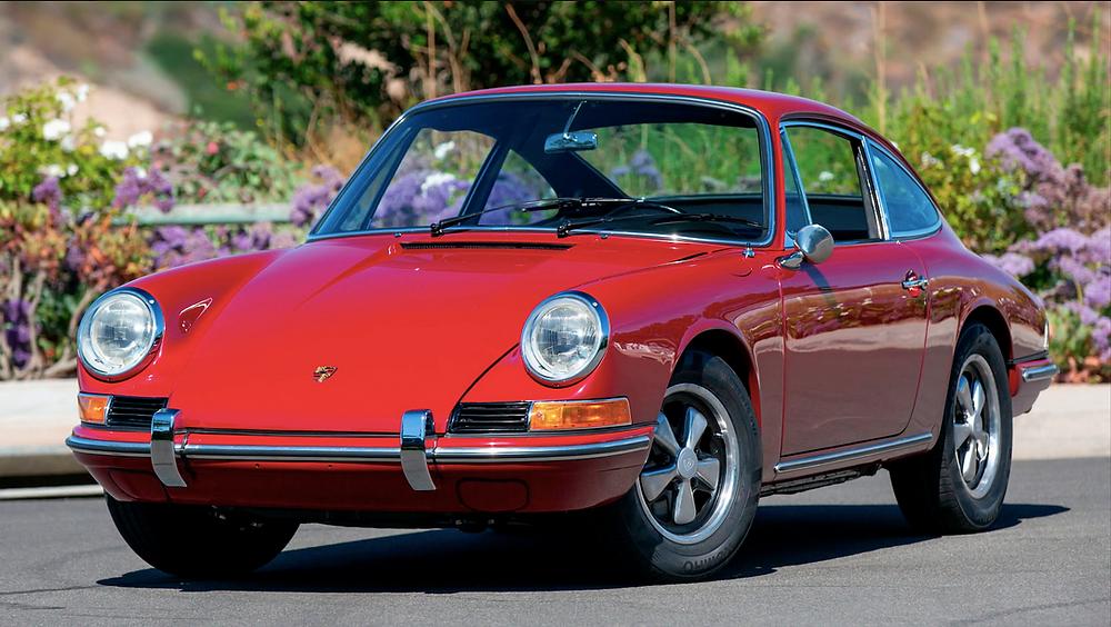 1966 Porsche 912 sold Monterey Auctions