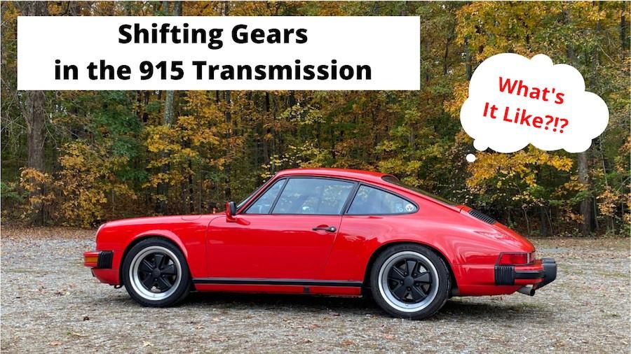 Porsche 915 Transmission vs Porsche G50 Transmission