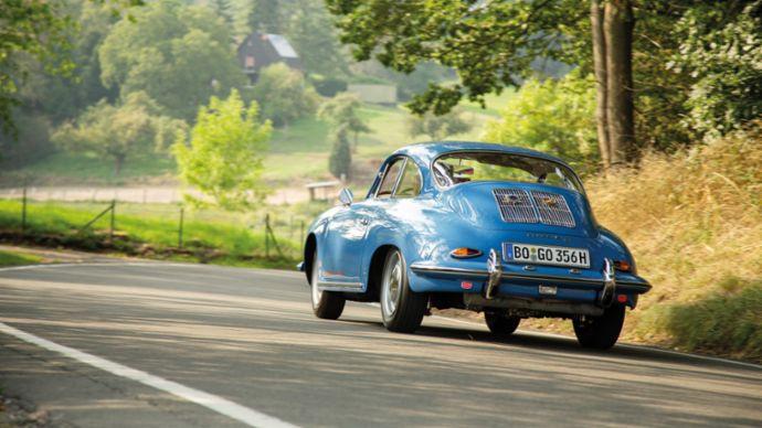 Restored Porsche 356