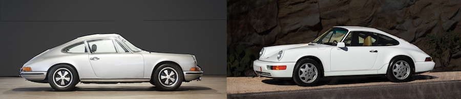 Air cooled Porsche classic