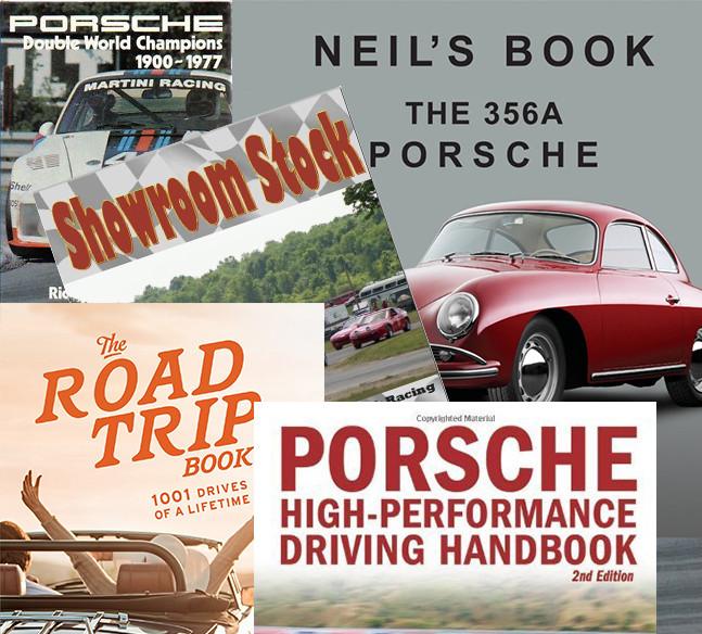 Porsche books, Porsche 356 book, porsche road trips, Porsche racing history