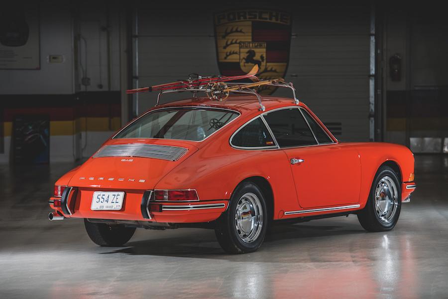 Tangerine Porsche 912 for sale
