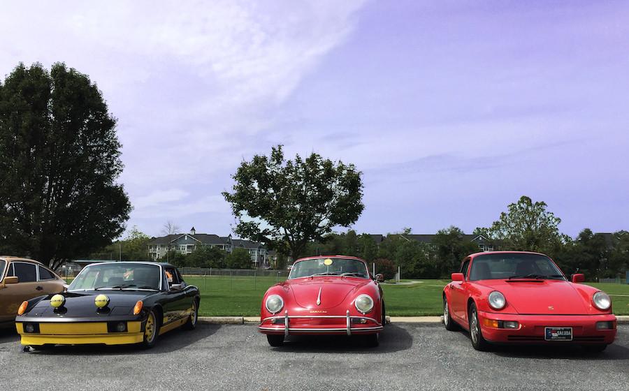 Porsche 914, Porsche 356, Porsche 964 drive