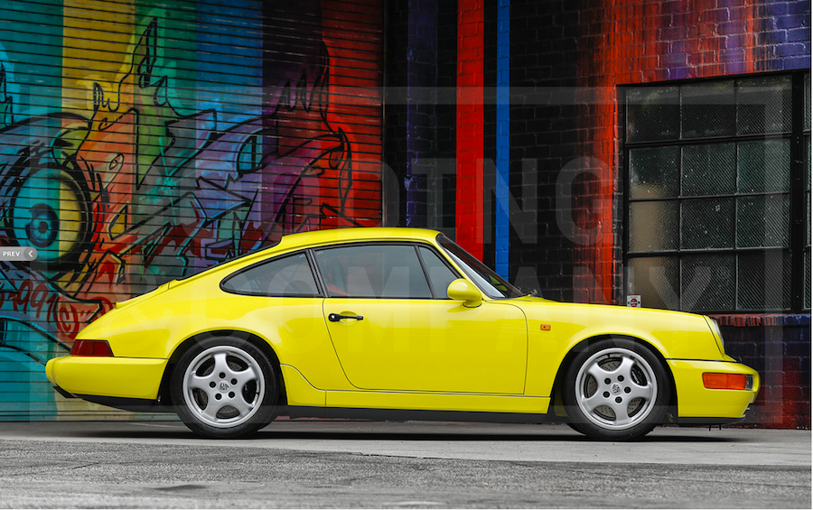 Air Cooled Porsche 964 RS