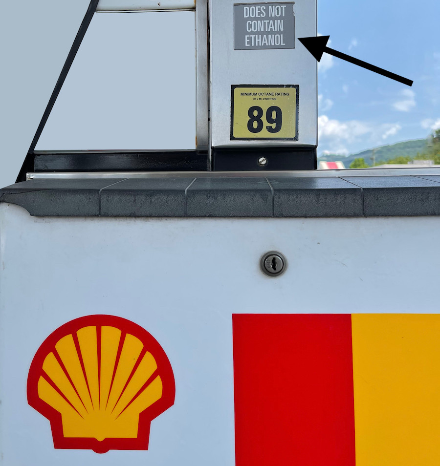 Ethanol Free gas for Air Cooled Porsches