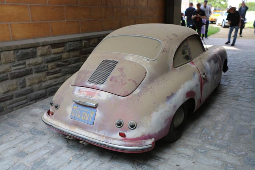 Dusty Porsche 356