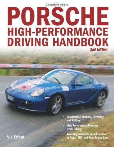 Porsche high performance driving book