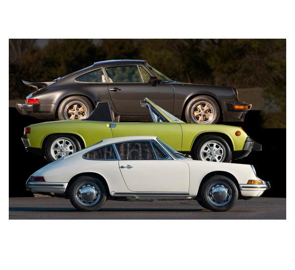 Porsches on auction Amelia 2020