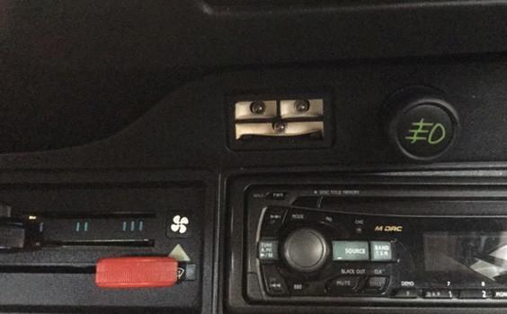 Porsche 911 Brake warning light lens