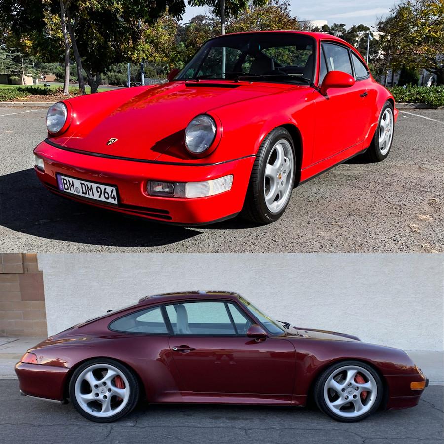 Porsche 964 for sale, Porsche 993 for sale