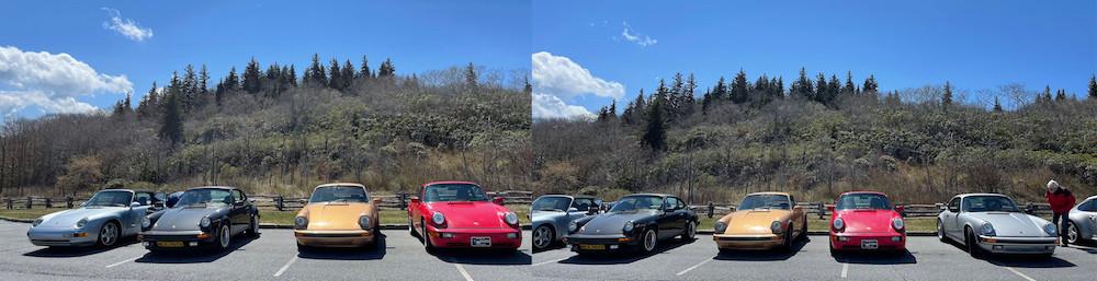 Air-Cooled Porsche Driving Tour