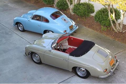 Porsche 356 Coupe, Porsche 356 Speedster