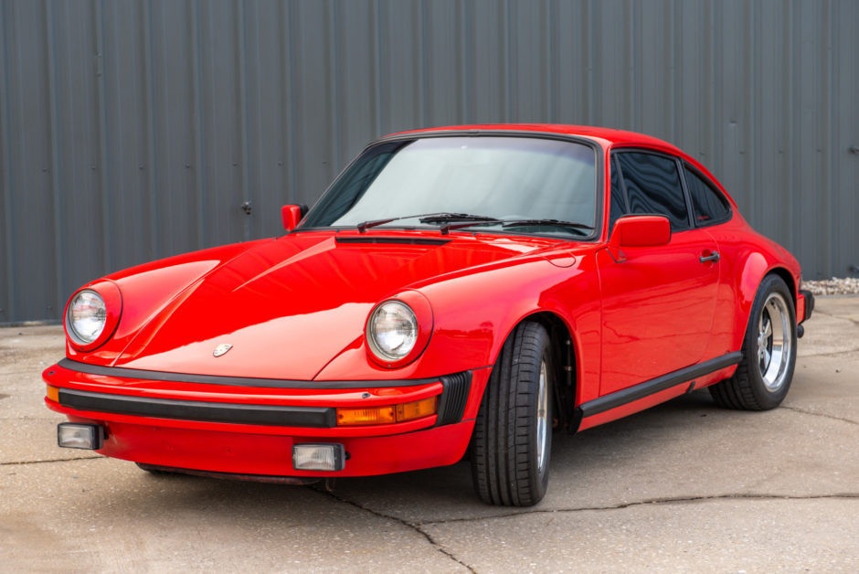 Guards Red Porsche 911