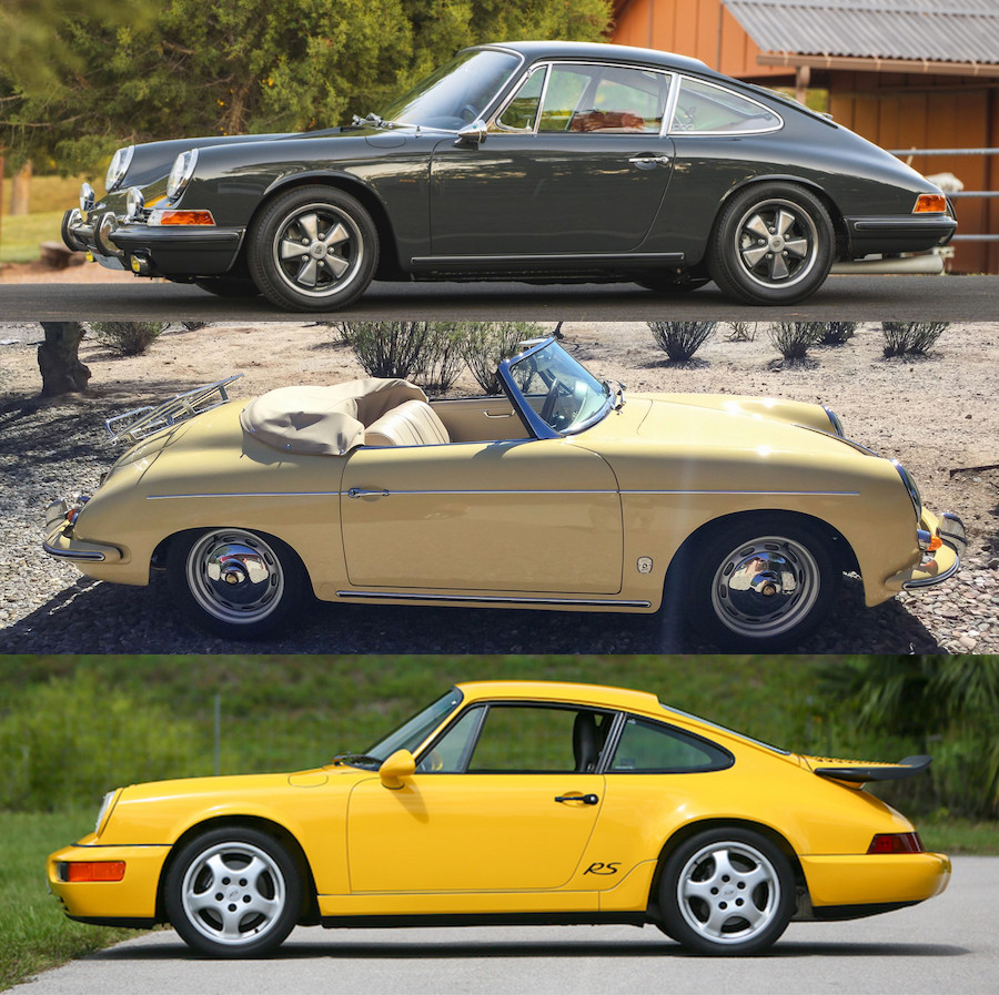 Air Cooled Porsches for sale