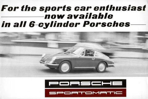 Porsche Sportmatic for Sale