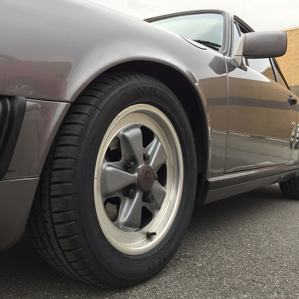 Selecting tires for air-cooled Porsche