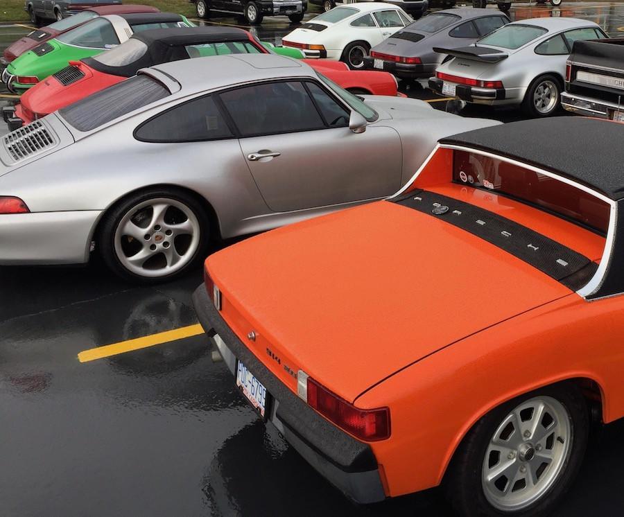 Porsche 993, Porsche 914 and Porsche 911 drive
