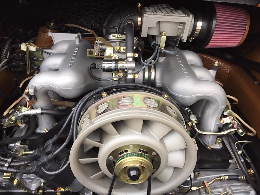 Flat-Six Porsche Engine