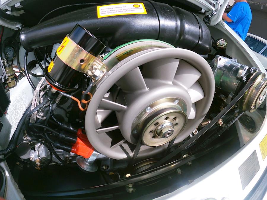 Porsche flat six engine at DRT2020
