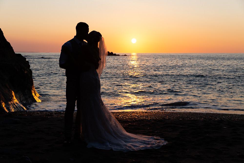 Sunset Wedding Wedding Photography