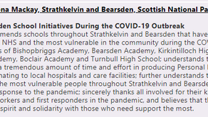 "EAST DUNBARTONSHIRE SCHOOLS ""INSPIRATIONAL"" COVID RESPONSE"