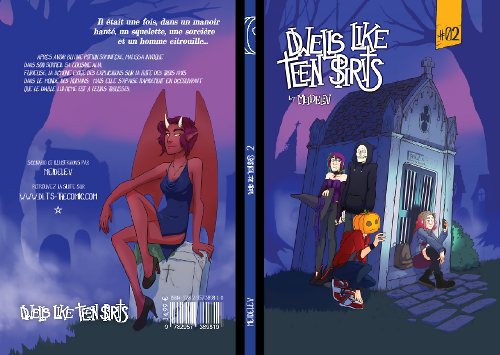 Couverture de Dwells like Teen Spirits 2