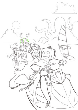 Helliday Coloriage 02