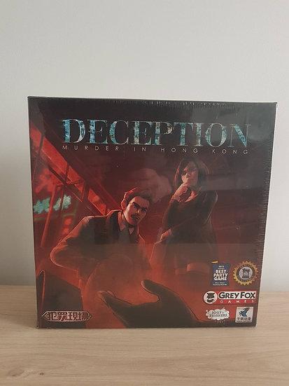 DECEPTION. MURDER IN HONG KONG (damaged)