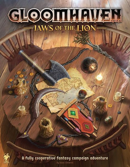 Gloomhaven. Jaws of the Lion