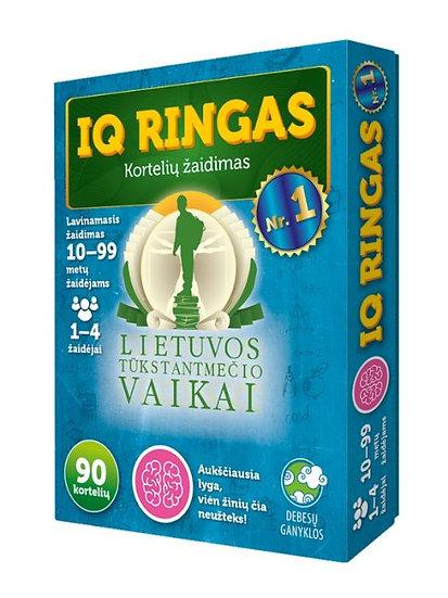 IQ ringas Nr. 1. Kortelių žaidimas. Lietuvos tūkstantmečio vaikai