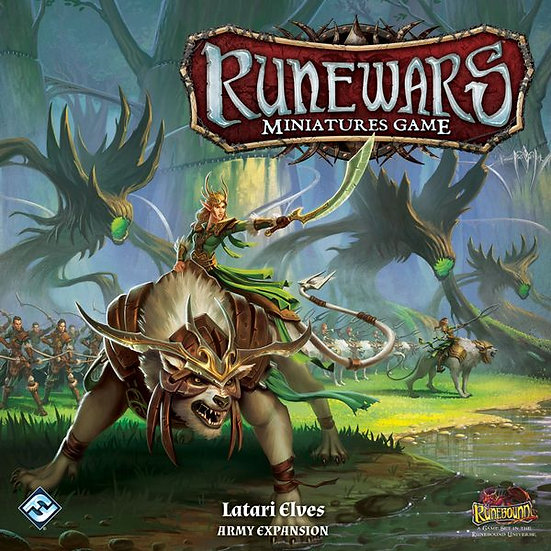 Runewars Miniatures Games: Latari Elf Army