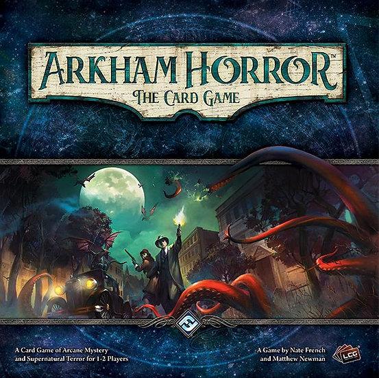 Arkham Horror. The card game