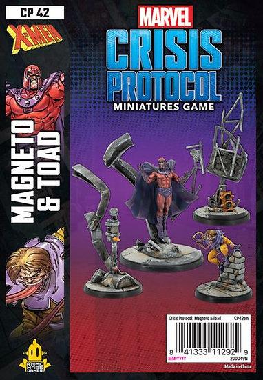 Marvel: Crisis Protocol – Magneto & Toad