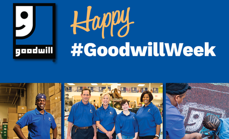 Goodwill Industries Week Celebrates 115 Years of Changing Lives