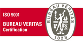 Bureau Veritas ISO 9001 Certification Logo