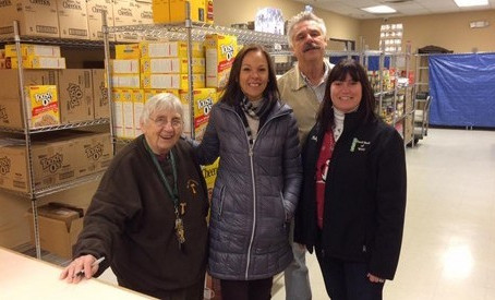 Welcome St. Patrick Food Pantry!
